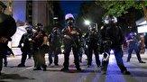 اقدام پلیس آمریکا برای جلوگیری از تظاهرات در پورتلند