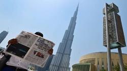 گزارش خبرنگاران اسرائیلی از مقابل برج خلیفه دبی برای نخستین بار