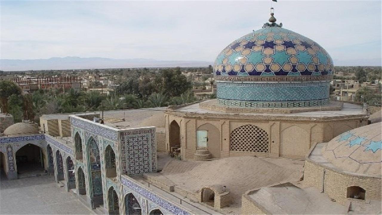 گنبد منحصربفرد امامزاده عبدالله (ع) بافق در دنیا + تصاویر