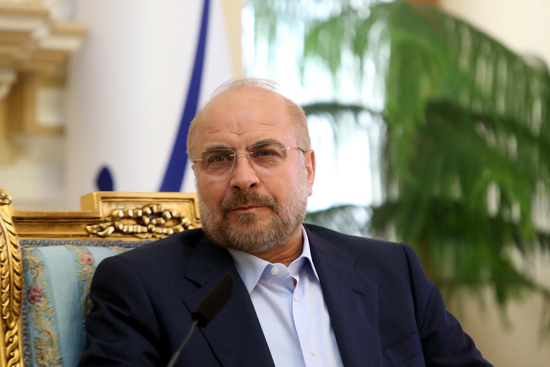 حضور قالیباف در جلسه کمیسیون اصل ۹۰ مجلس