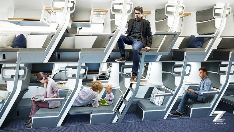 صندلیهای تخت خواب شو هواپیما