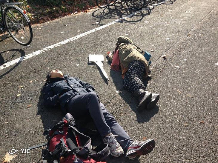 ظهور پدیده ای عجیب در خیابان های ژاپن!