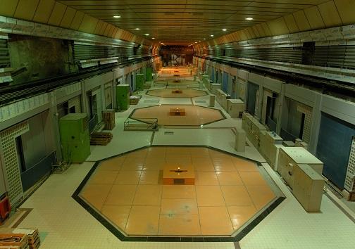 نمای درونی نیروگاه برقابی سد کارون ۳