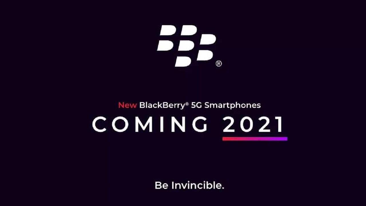 گوشی G5 جدید بلکبری مجهز به صفحه کلید فیزیکی