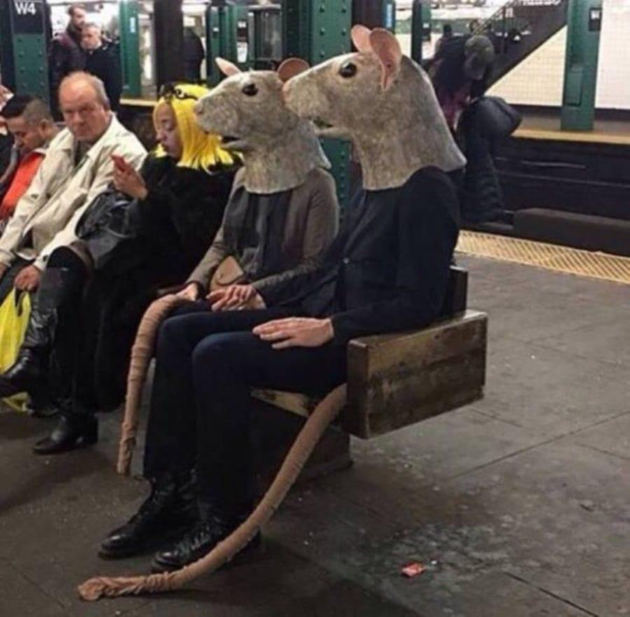 تصاویر عجیب ثبت شده از مسافران