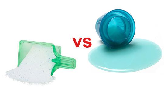 مایع لباسشویی یا پودر لباسشویی؛ کدام یک برای شستن لباس در ماشین لباسشویی بهتر است؟