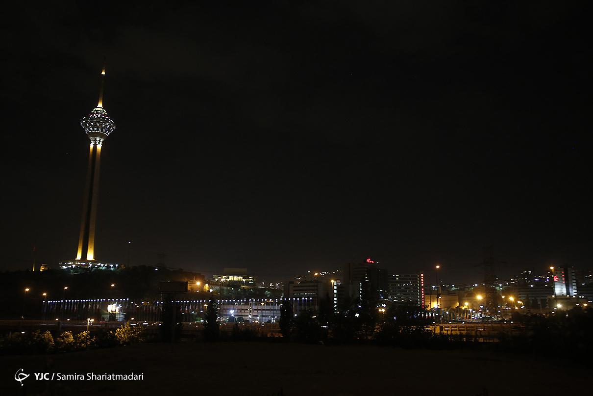 خاموشی تهران