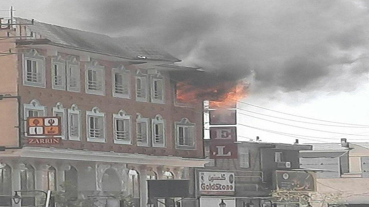 جزئیات آتش سوزی هتل زرین دماوند/ حادثه تلفات جانی نداشت