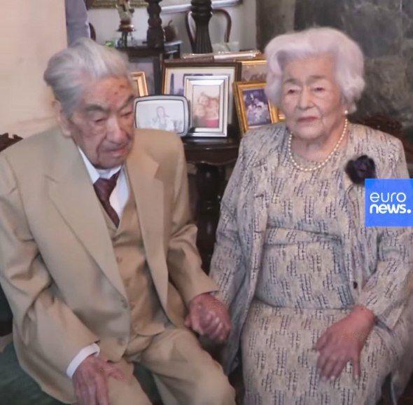 ثبت ازدواج مسن ترین زوج دنیا در گینس