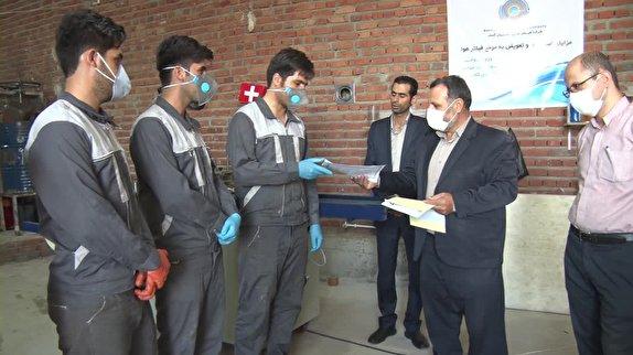 باشگاه خبرنگاران - تولید فیلتر هوای خودرو برای اولین بار در مهاباد