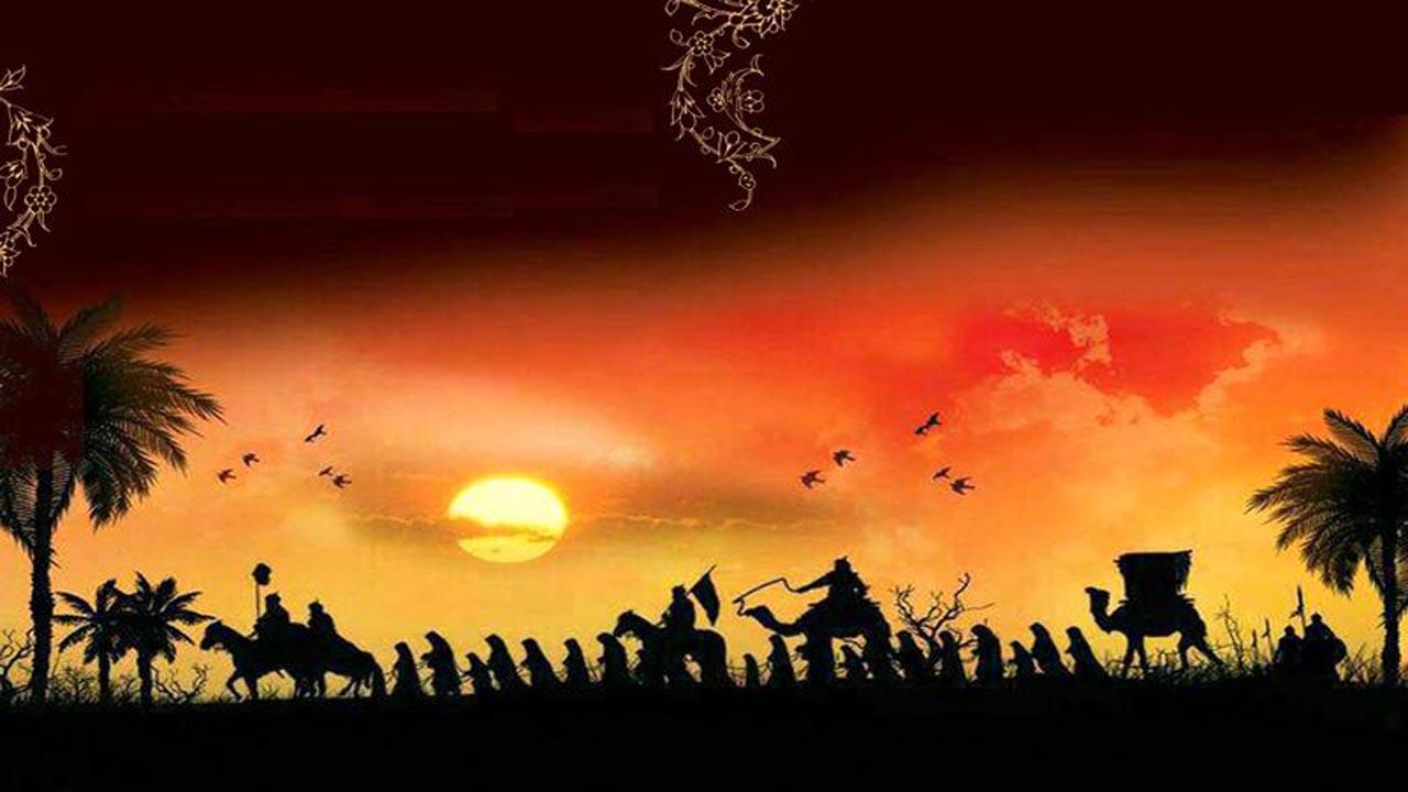 آنچه در روز سیزدهم ماه محرم بر اسرای واقعه عاشورا گذشت