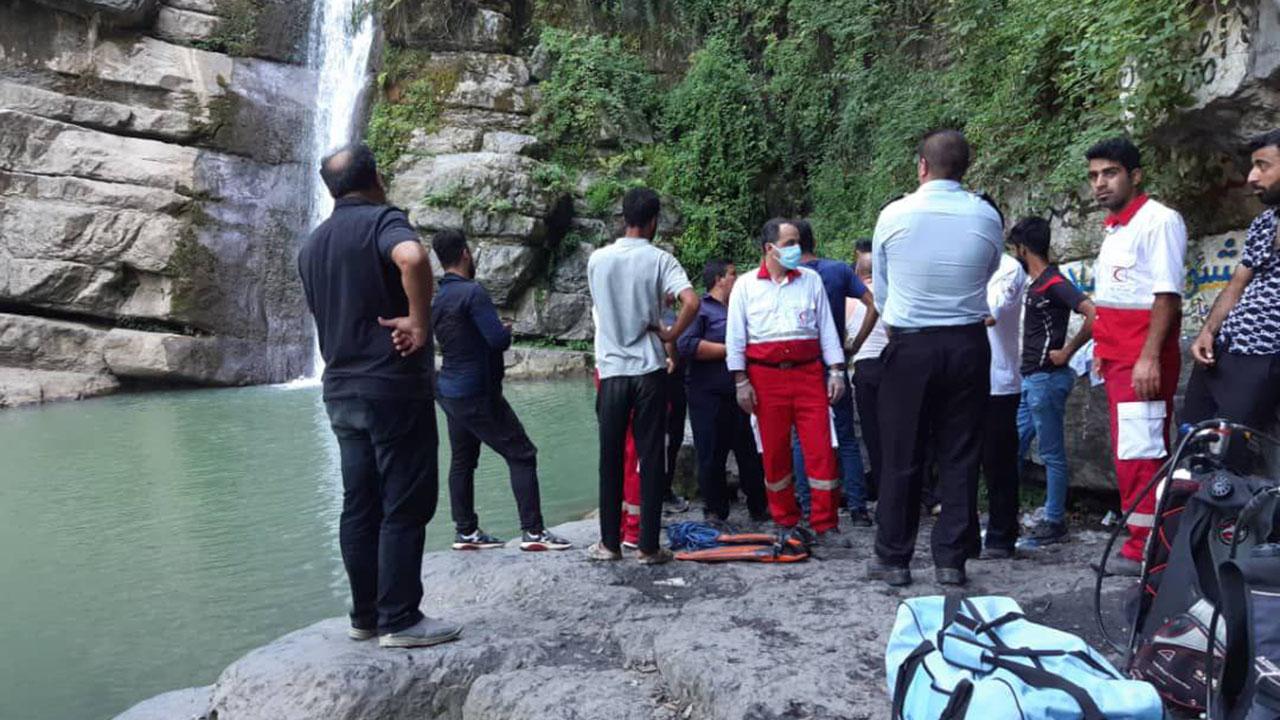 غرق شدن نوجوان گلستانی در آبشار شیرآباد
