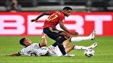 لیگ ملتهای اروپا/ فرار اسپانیا از شکست با گل لحظه آخری
