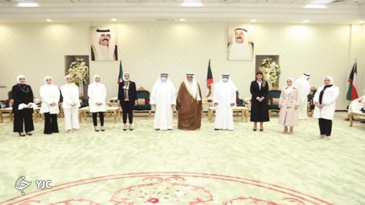 ادای سوگند نخستین زنان قاضی در کویت+ تصاویر