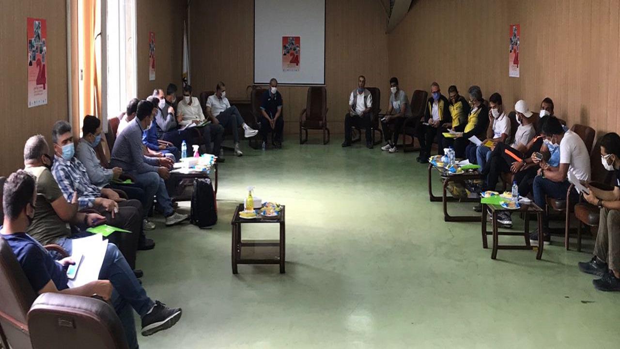 برگزاری جلسه فنی مسابقات لیگ دو و میدانی