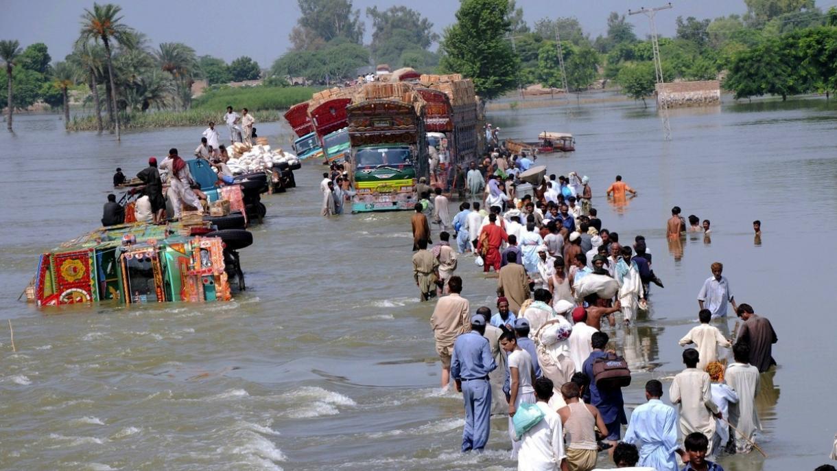 ۴۰ کشته و خسارت گسترده بر اثر سیل در پاکستان 04