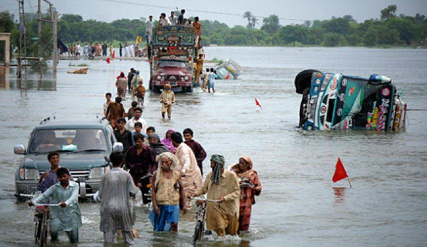 ۴۰ کشته و خسارت گسترده بر اثر سیل در پاکستان 02