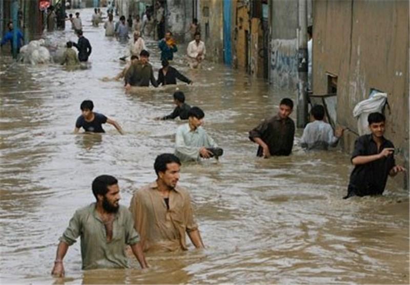 ۴۰ کشته و خسارت گسترده بر اثر سیل در پاکستان 01