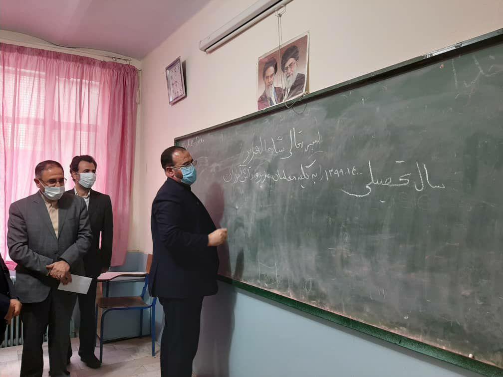 سنگ بنای توسعه و ترقی کشور از مدارس شروع میشود