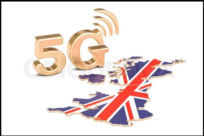 اینترنت 5G در انگلیس