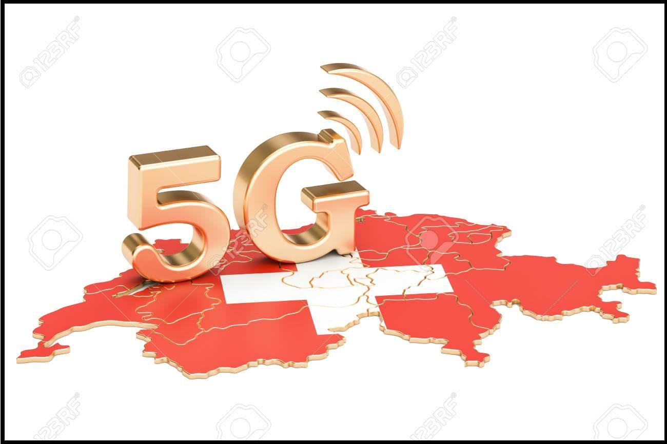 پیشرفت سوئیس در ارائه 5G
