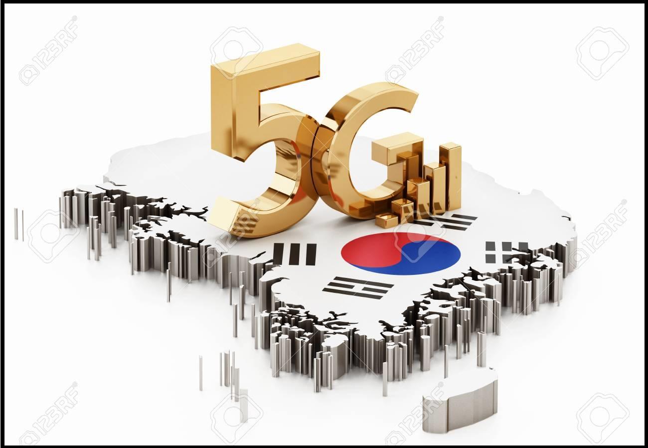 سرعت اینترنت 5G در کره جنوبی