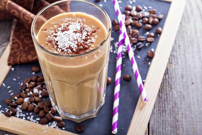 اسموتی قهوه