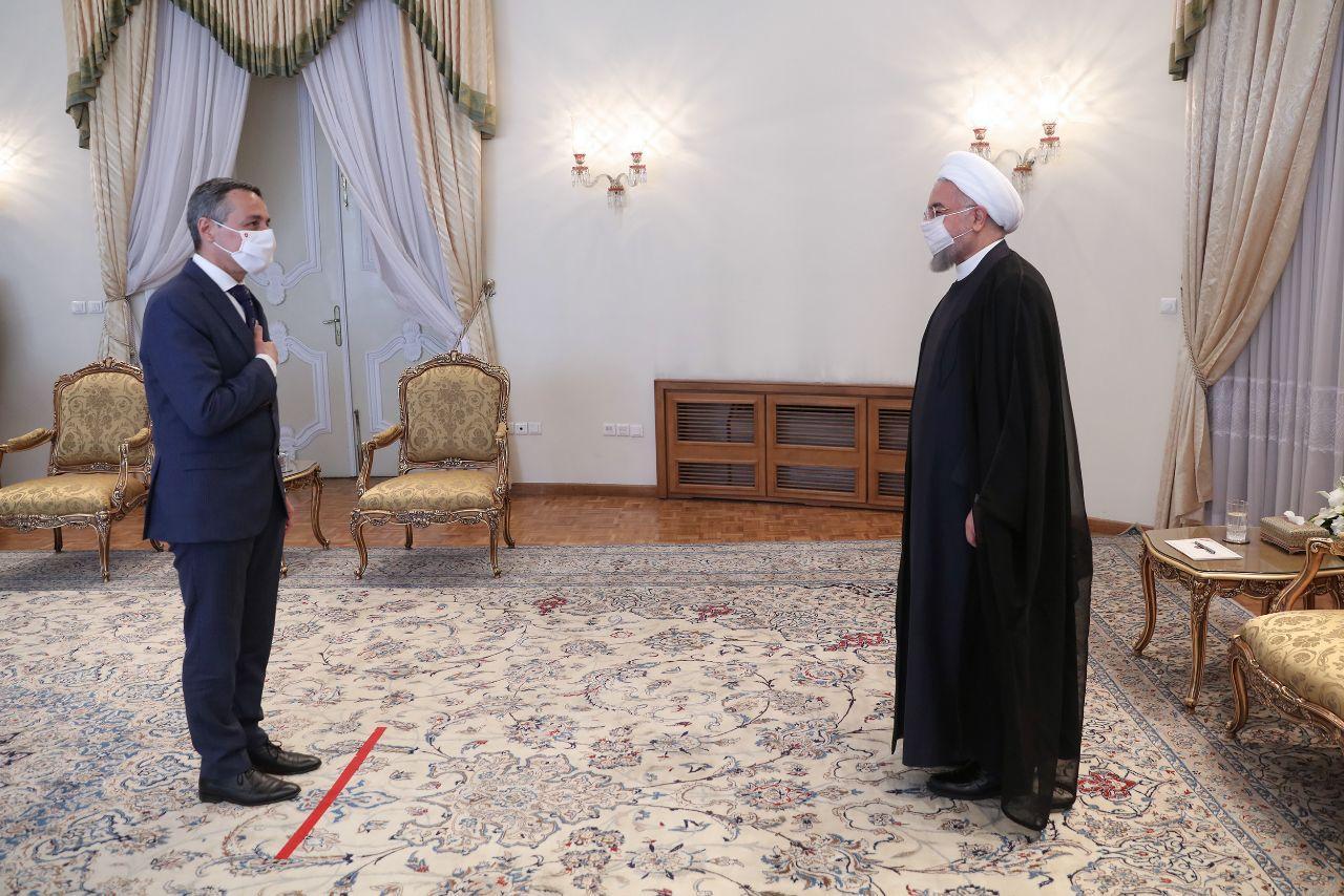 دیدار وزیر خارجه سوئیس با حجتالاسلام روحانی