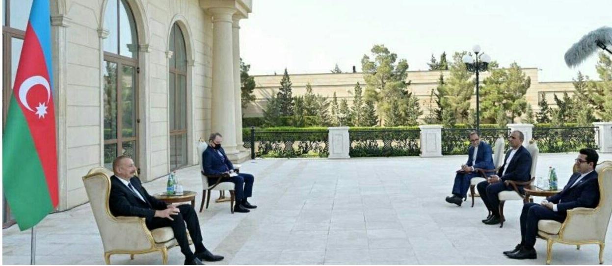 سفیر ایران در آذربایجان با رئیسجمهور این کشور دیدار کرد
