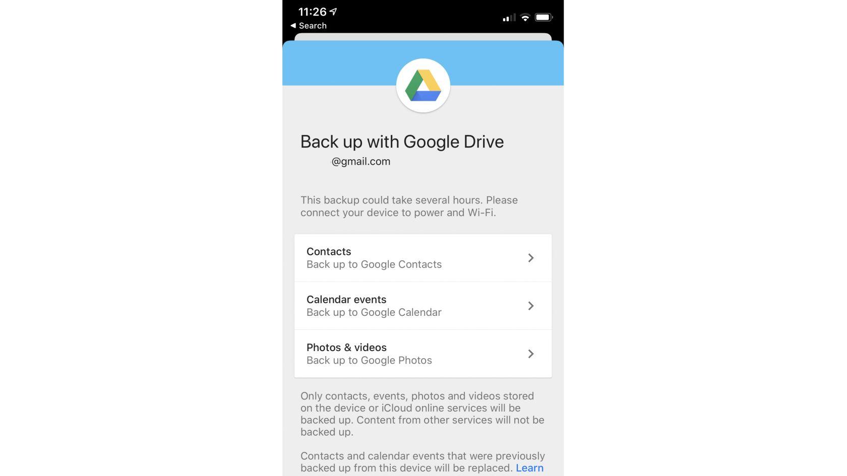 سرویس google drive