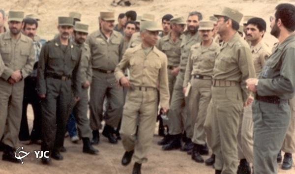 فرمانده ارتشی که با وجود فوت دخترش در آزادسازی خرمشهر موثر بود