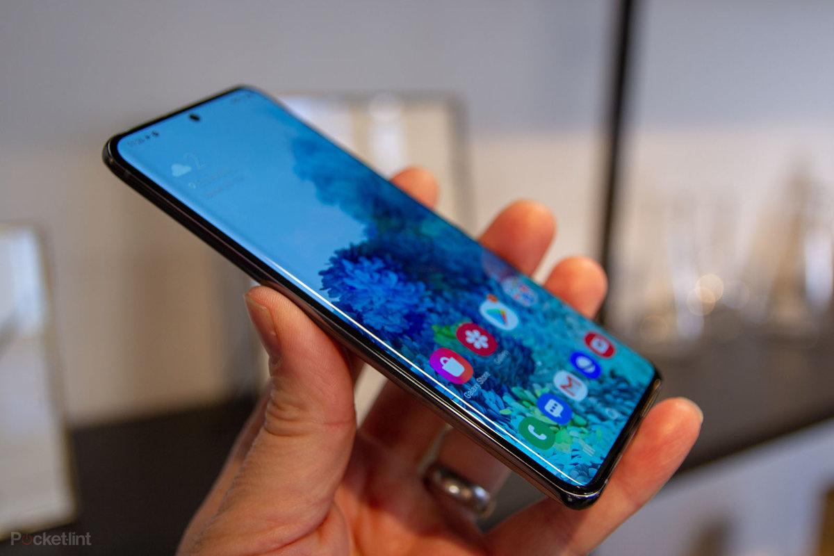 نمایشگر گوشی Galaxy S20 Ultra
