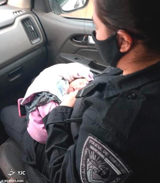 پیداشدن نوزاد مجروح شده در خیابان!