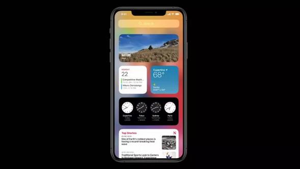 قابلیت ویجت در iOS 14