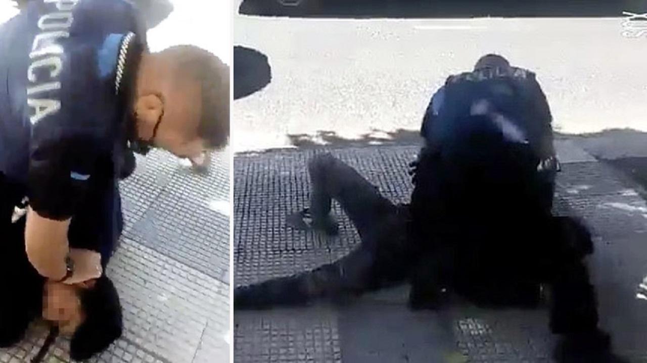 خشونت وحشتناک پلیس