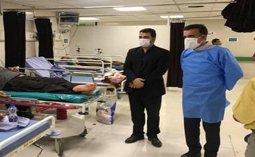 رئیس دانشگاه علوم پزشکی قم از یک مرکز درمانی بازدید کرد