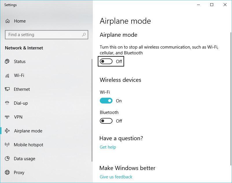 آسان کردن جریان کار با بستن برنامهها و اعمال حالت پرواز