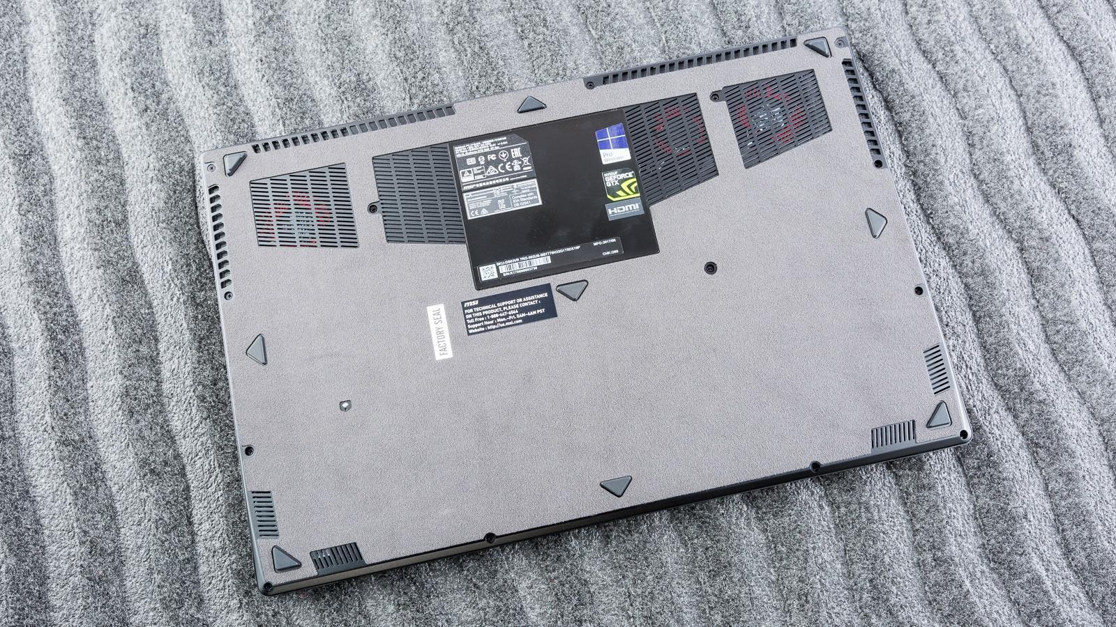 توجه زیاد به جریان هوا در سیستم لپ تاپ