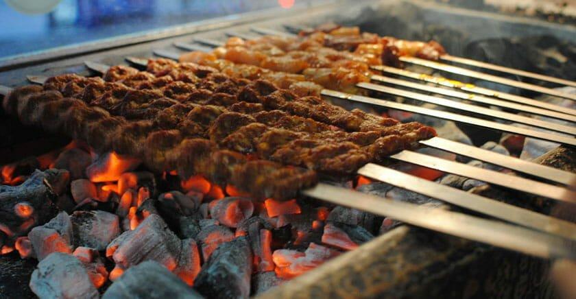 کباب کردن گوشت