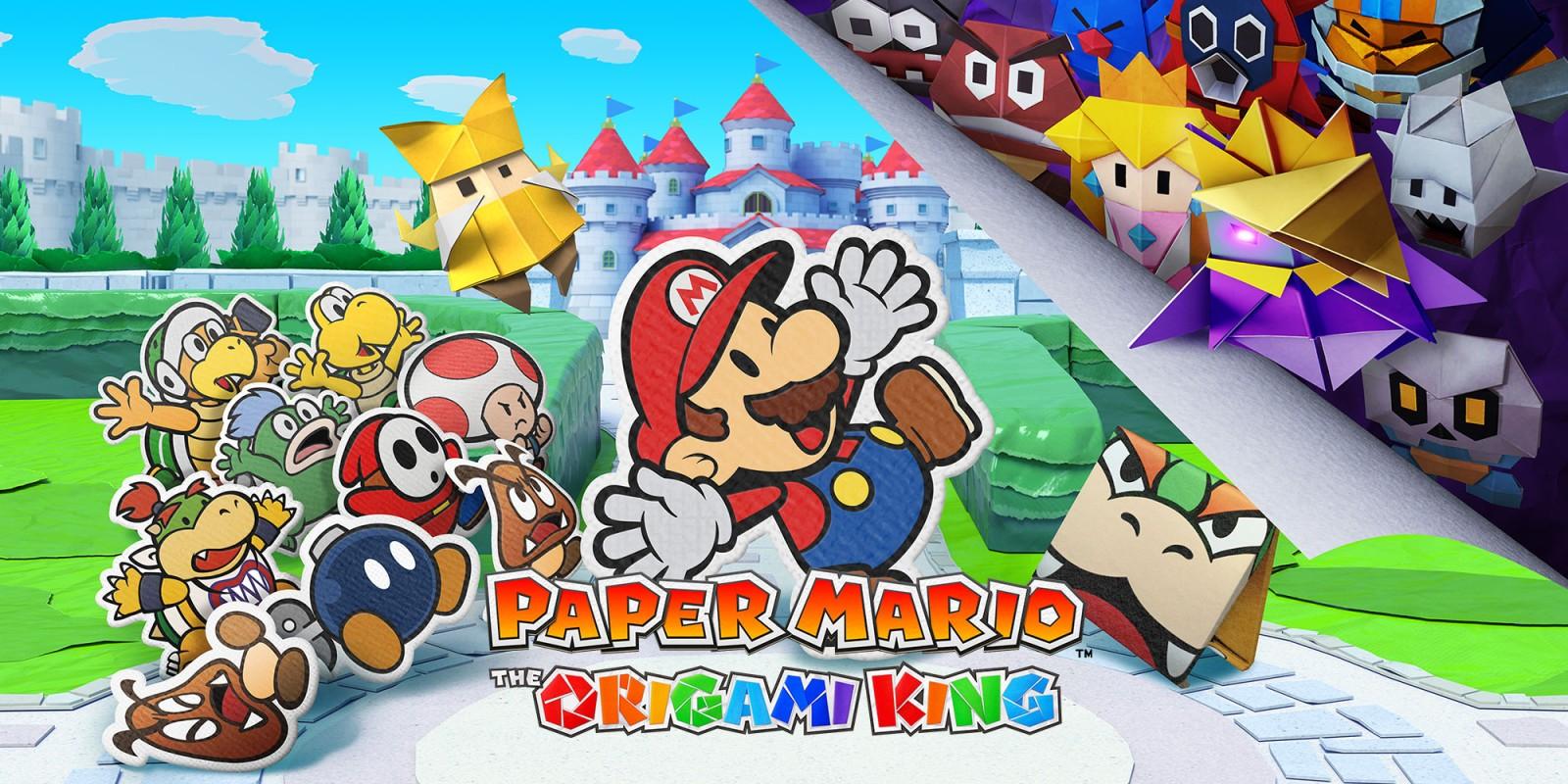 عنوان جالب و خلاقانه Paper Mario: Origami King