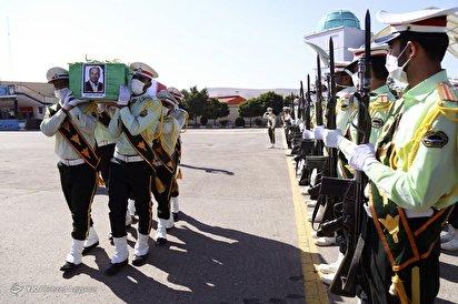 تشییع شهید مدافع امنیت «محمدرضا سفیدی نسب»