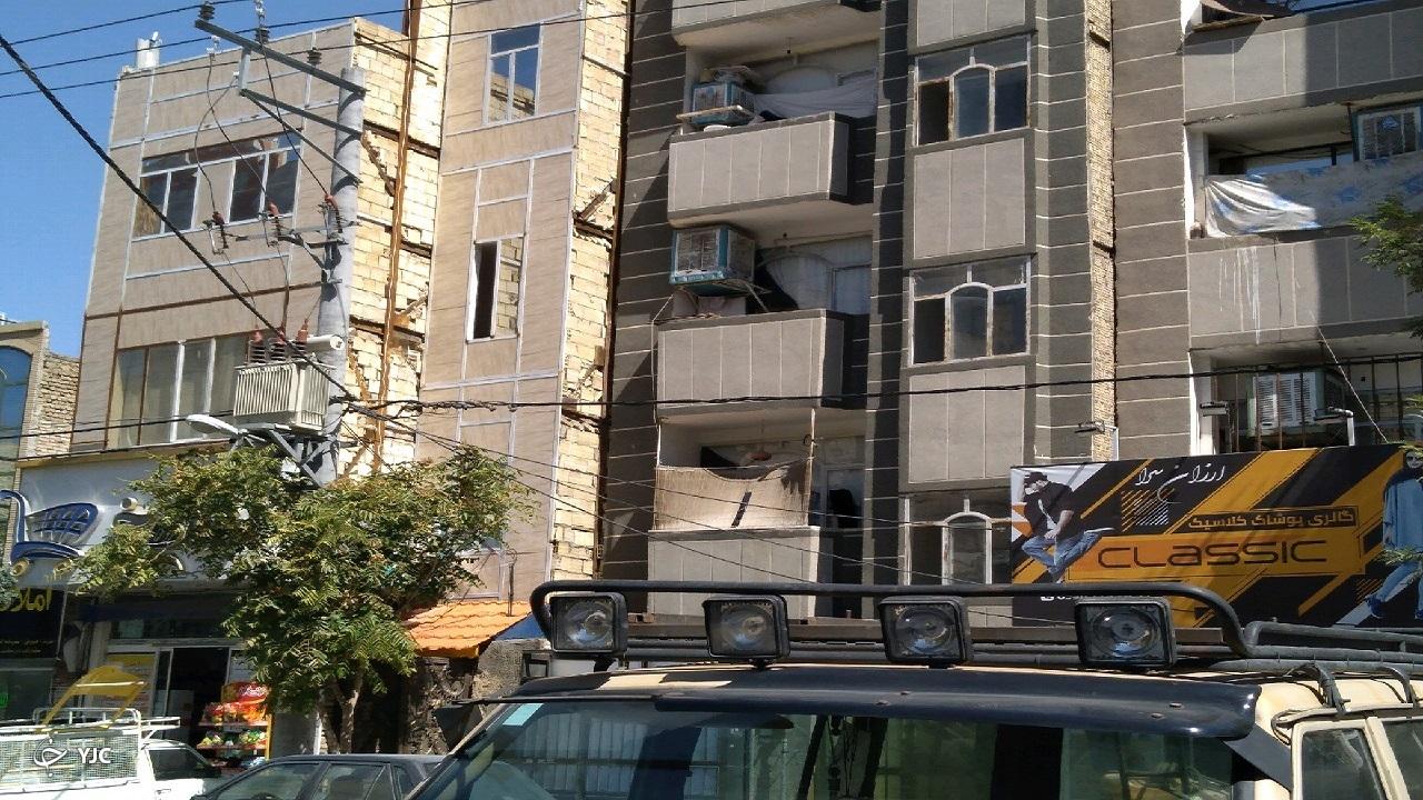 حاشیه نشینی جدید این بار بر فراز پشت بامها در مشهد
