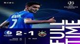 پلی آف لیگ قهرمانان اروپا/ پیروزی خنت در شب غیبت میلاد محمدی