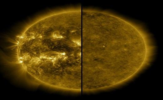 چرخه فعالیتی خورشید
