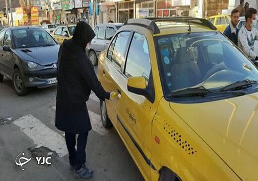 جابجایی کرونا در تاکسی ها/ وقتی جان انسانها فدای طمع رانندگان تاکسی میشود