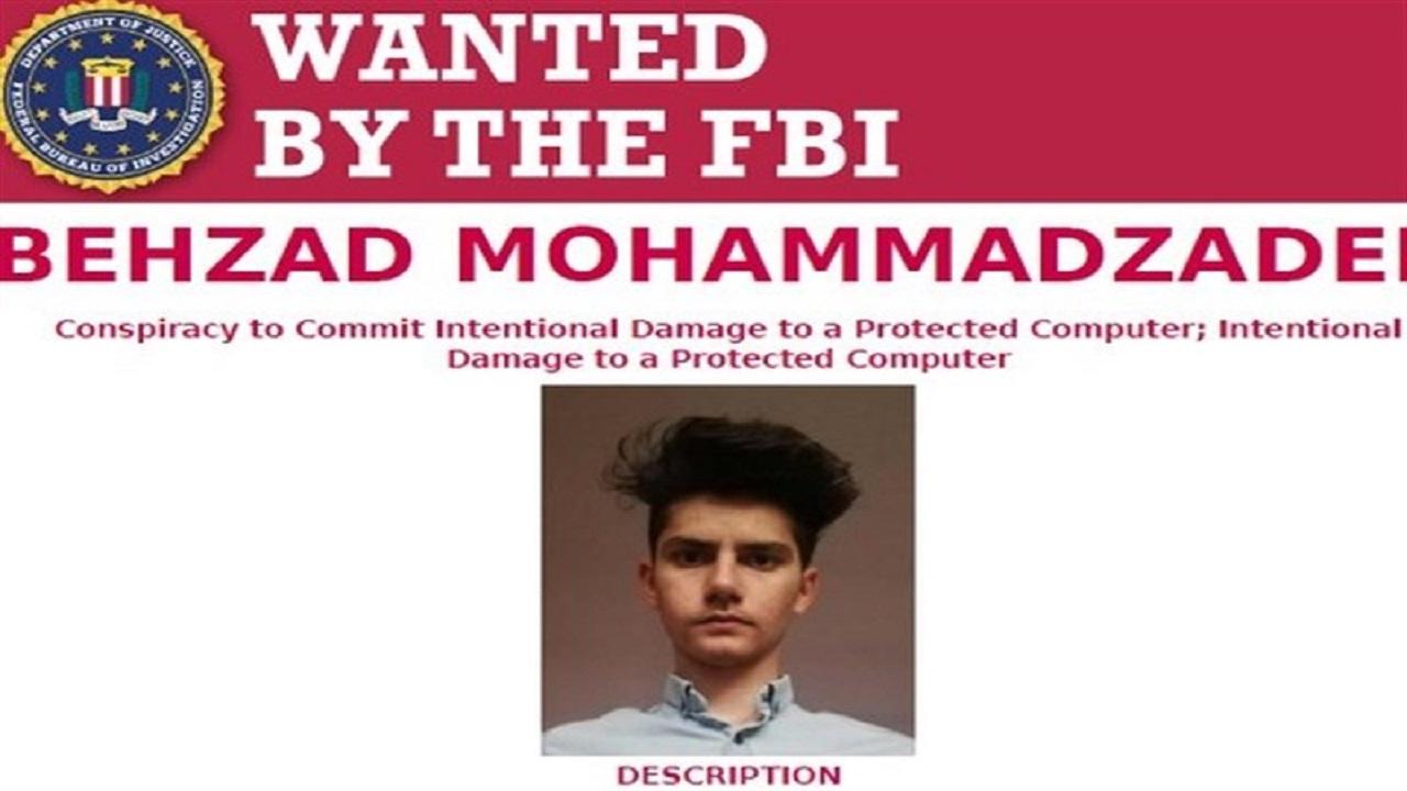 جوان ایرانی، تحت تعقیب وزارت دادگستری آمریکا!