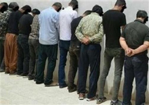 انهدام باند حرفهای سند نمره در نجف آباد/ دستگیری ۱۰ خرده فروش و معتاد پرخطر در شاهین شهر