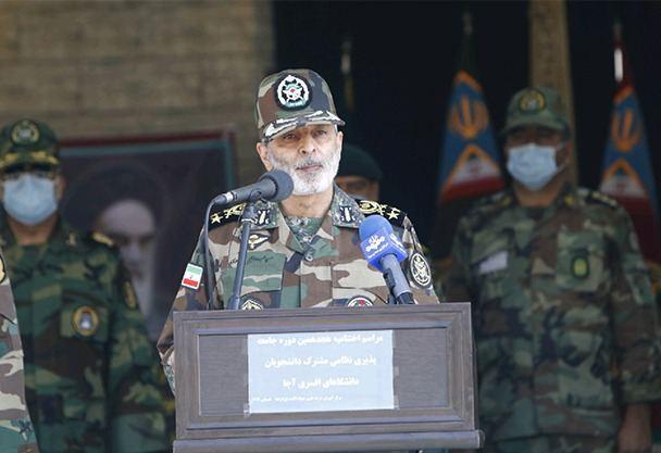 انتخاب ارتش به عنوان پرچمدار فداکاری، بسیار افتخار آمیز است