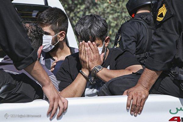 دستگیری اراذل و اوباش محله تهرانپارس