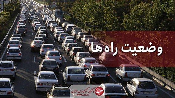 باشگاه خبرنگاران - ترافیک نیمه سنگین در برخی محورهای مواصلاتی استان زنجان